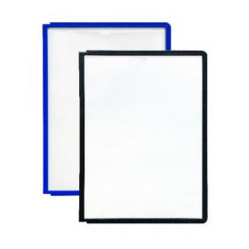Durable Sherpa Display Panel A4 Black (Pack of 10) 5606-01