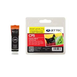 Cheap Stationery Supply of Jet Tec Remanufactured Canon PGI-5BK Black CP5 Inkjet Printer Ink Office Statationery