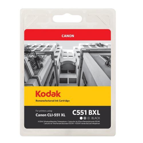 Kodak Remanufactured Canon Cli 551xl Black Cl51b Inkjet 185c055130