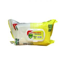 Cheap Stationery Supply of Detox Anti Bacterial Wipes Lemon (Pack of 120) Detox 120 Lem Office Statationery