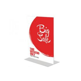 Announce Stand Up Sign Holder A4 DF47801