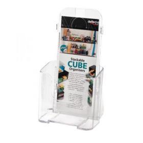 Deflecto 1/3xA4/DL Clear Literature Holder 78501