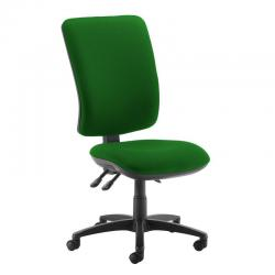 Cheap Stationery Supply of Senza extra high back operator chair with no arms - Lombok Green Office Statationery