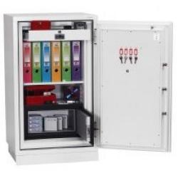 Cheap Stationery Supply of Phoenix Datacombi DS2501K Size 1 Data Safe with Key Lock Office Statationery