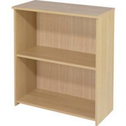 Cheap Stationery Supply of Initiative 825mm Bookcase Oak Office Statationery