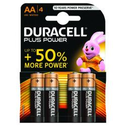 Cheap Stationery Supply of Duracell Plus AA Battery (Pack of 4) 81275375 Office Statationery