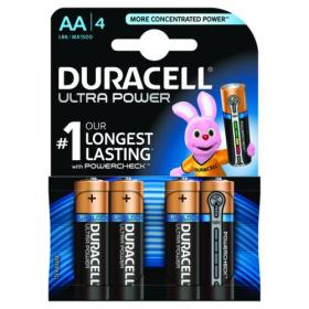 Duracell Ultra Power AA Batteries (Pack of 4) 75051955