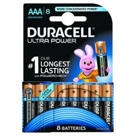 Duracell Ultra Power AAA Batteries (Pack of 8) 15071690