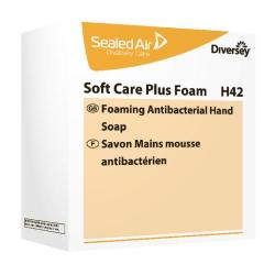Cheap Stationery Supply of Soft Care Plus Foam H41 Antibacterial Cream Foam Hand Wash (Pack of 6) 100985877 Office Statationery