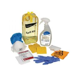 Cheap Stationery Supply of Diversey Oxivir Plus Body Spillage Kit (Includes gloves, mask, scraper, bio-hazard bag) 100840608 Office Statationery