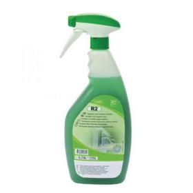Diversey Room Care R2 Multi-Surface Cleaner and Sanitiser 750ml Trigger Spray Pack of 6 100862136