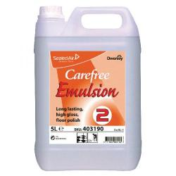 Cheap Stationery Supply of Carefree Floor Emulsion 5 Litre (Pack of 2) 403190 Office Statationery