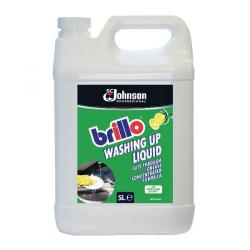 Cheap Stationery Supply of Brillo Concentrated Washing Up Liquid 5 Litre BWU5LTR Office Statationery