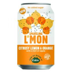 Cheap Stationery Supply of Volvic LMon Sparkling Lemon and Orange 330ml (Pack of 12) 145921 Office Statationery