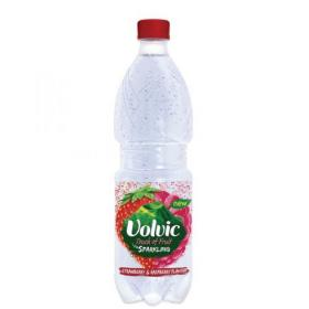 Volvic Touch of Fruit Strawberry and Raspberry Flavoured Sparkiling Water 500ml 106449