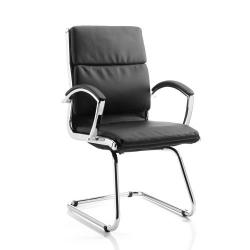 Cheap Stationery Supply of Adroit Classic Cantilever Chair With Arms Black BR000030 Office Statationery