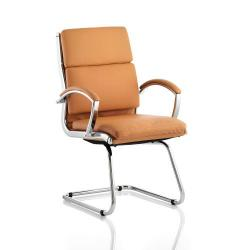 Cheap Stationery Supply of Adroit Classic Cantilever Chair With Arms Tan BR000031 Office Statationery