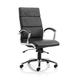 Cheap Stationery Supply of Adroit Classic Executive Chair With Arms High Back Black EX000007 Office Statationery