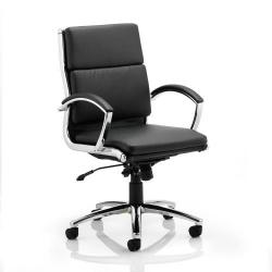 Cheap Stationery Supply of Adroit Classic Executive Chair With Arms Medium Back Black EX000010 Office Statationery