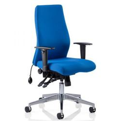 Cheap Stationery Supply of Adroit Onyx Posture Chair Blue 450x470-540x590-640mm OP000097 Office Statationery