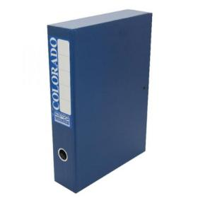 Rexel Colorado Box Foolscap File Blue Pack of 5 30413EAST