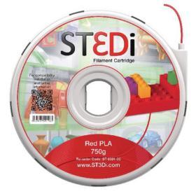 ST3Di Red PLA 3D Printing Filament 750g ST-6001-00
