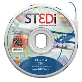 ST3Di Blue PLA 3D Printing Filament 750g 3D-FL-ST-6003-00