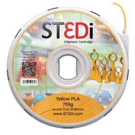 ST3Di Yellow PLA 3D Printing Filament 750g ST-6004-00