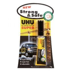 Cheap Stationery Supply of UHU Strong and Safe Super Glue 7g (Pack of 12) 39722 Office Statationery