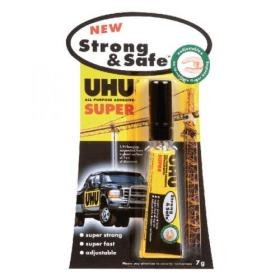 UHU Strong and Safe Super Glue 7g (Pack of 12) 39722