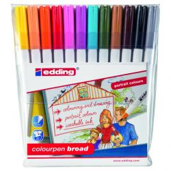 Cheap Stationery Supply of Edding Colour Pen Fine (Pack of 12) 1421999 Office Statationery