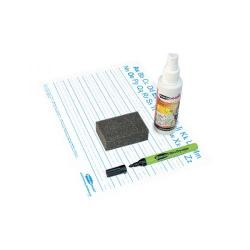 Cheap Stationery Supply of Showme Classpack Drywipe Board with Pens and Erasers Pack of 35 C/HWB Office Statationery