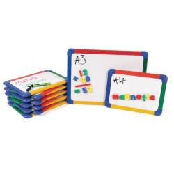 Cheap Stationery Supply of Show-me Magnetic Whiteboard A4 Gridded (Pack of 10) MBA4/10 Office Statationery