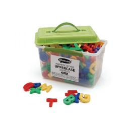 Cheap Stationery Supply of Show-me Magnetic Upper Case Letters Assorted (Pack of 286) MLUC Office Statationery