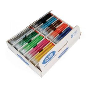Swash KOMFIGRIP Colouring Pen Fine Tip Assorted (Pack of 300) TC300F