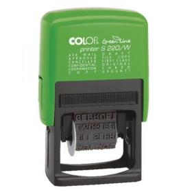 COLOP S220/W Green Line Dial-A-Phrase Stamp GLS220W