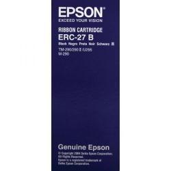 Cheap Stationery Supply of Epson ERC27 Fabric Black Ribbon For TM-U290/M-290 C43S015366 Office Statationery