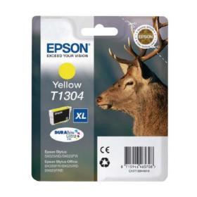 Epson T1304 Yellow Extra High Yield Inkjet Cartridge C13T13044010 / T1304