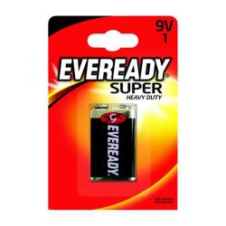 Cheap Stationery Supply of Eveready Super Heavy Duty Battery 9V 6F22BIUP Office Statationery