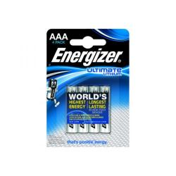 Cheap Stationery Supply of Energizer AAA Ultimate Lithium Batteries (Pack of 4) 632965 Office Statationery