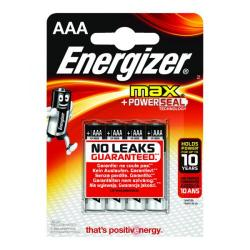 Cheap Stationery Supply of Energizer MAX E92 AAA Batteries (Pack of 4) E300124200 Office Statationery
