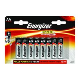 Energizer MAX E91 AA Batteries (Pack of 12) E300112600