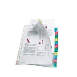 Cheap Stationery Supply of Esselte 12-Tab Index Pocket A4 Assorted 414170 Office Statationery