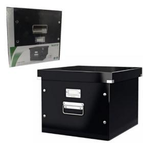 Leitz Click and Store Suspension File Storage Box A4 Black 60460095