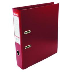 Cheap Stationery Supply of Esselte 75mm Lever Arch File Polypropylene A4 Burgundy (Pack of 10) 48069 Office Statationery