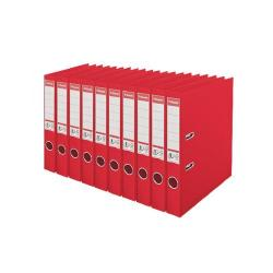 Cheap Stationery Supply of Esselte 50mm Lever Arch File Polypropylene A4 Red (Pack of 10) 48073 Office Statationery