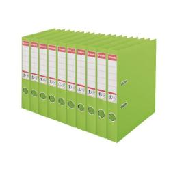 Cheap Stationery Supply of Esselte 50mm Lever Arch File Polypropylene A4 Green (Pack of 10) 48076 Office Statationery