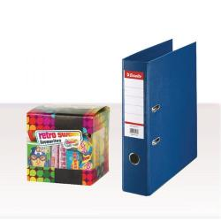 Cheap Stationery Supply of Esselte A4 PVC Lever Arch File 75mm Blue (Pack of 10) with FOC Sweets ES810769 Office Statationery