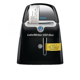 Dymo LabelWriter 450 Duo Label Printer (Thermal printer, no toner required) 10S0838960