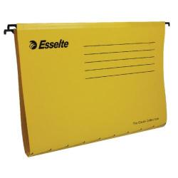 Cheap Stationery Supply of Esselte Classic A4 Yellow Suspension File (Pack of 25) 90314 Office Statationery